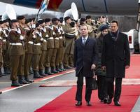 Official visit to Luxembourg of the Prime Minister of the Russian Federation Dmitry Medvedev © 2019 RTL Luxembourg
