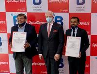 B Medical Systems SpiceXpress Partnership Agreement