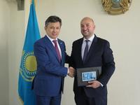 Deputy Prime Minister Étienne Schneider had meeting with the Minister of Finances Mr Bakhyt Sultanov