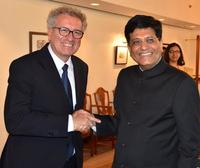 Finance Ministers of Luxembourg and India