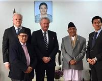 Meeting with the Prime Minister of Nepal