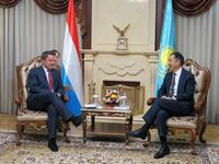 Prime Minister Bettel had a working meeting with Prime Minister Bakhytzhan Sagintaev