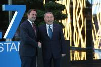 Prime Minister Bettel met with the President of the Kazakhstan Nursultan Nazarbayev in the margins of the EXPO's opening ceremony © ASTANA EXPO 2...
