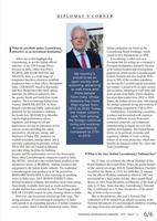 The Diplomatist magazine interview - 6