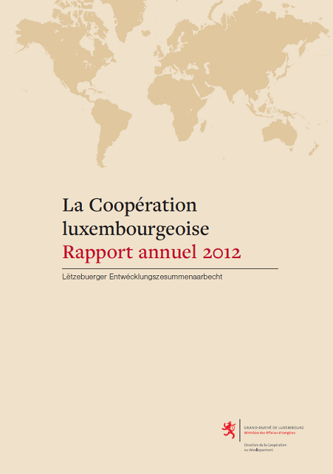 Rapport annuel 2012